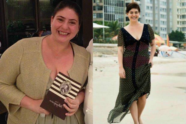 Antes y después de Izabel Alvares - Foto: Reproducción / Instagram