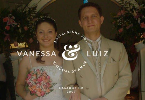 Vanessa y Luiz han estado casadas por 12 años y tienen dos hijas - Foto: Colección Personal