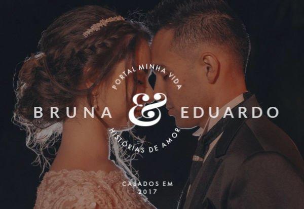 La relación de Bruna y Eduardo solo se fortaleció después del matrimonio - Foto: Colección personal