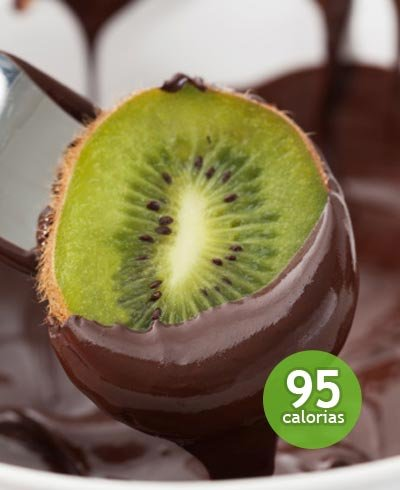 Kiwi con chocolate - Foto: Getty Images
