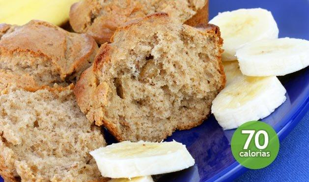 Pastel de plátano dietético - Foto: Getty Images