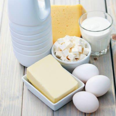 Los lácteos y los huevos son ricos en vitamina A - Foto: Getty Images