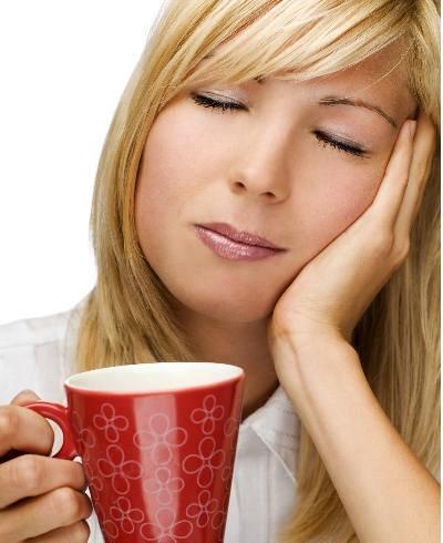 Dolor de cabeza de té - imágenes de fotos getty