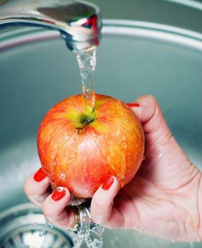 Manzanas con crema de linaza - Getty Images