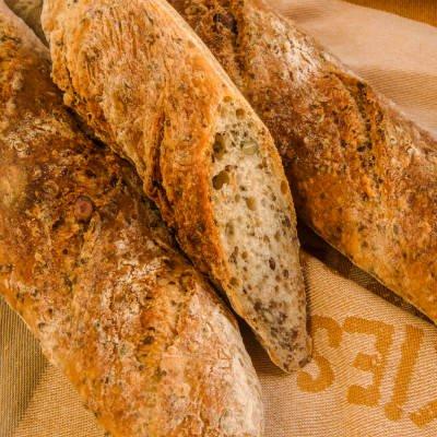 Pan con semillas de chía en la masa - Foto: Getty Images