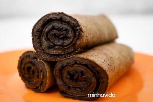 Receta de Crepioca Light Chocolate