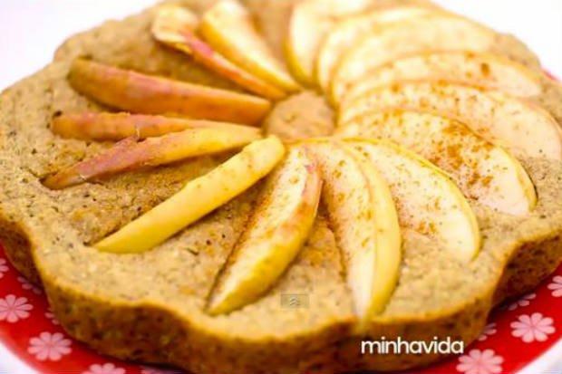 Pastel de manzana ligero