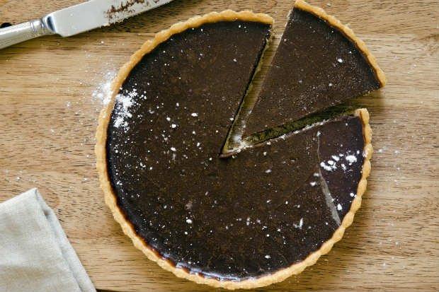 Foto de Chocolate Pie with Diet Coffee: Thinkstock