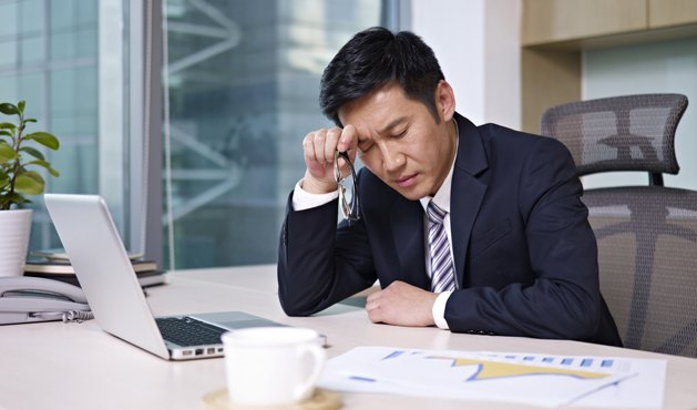 hombre en la oficina - Foto: Getty Images