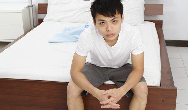 hombre con insomnio - Foto: Getty Images