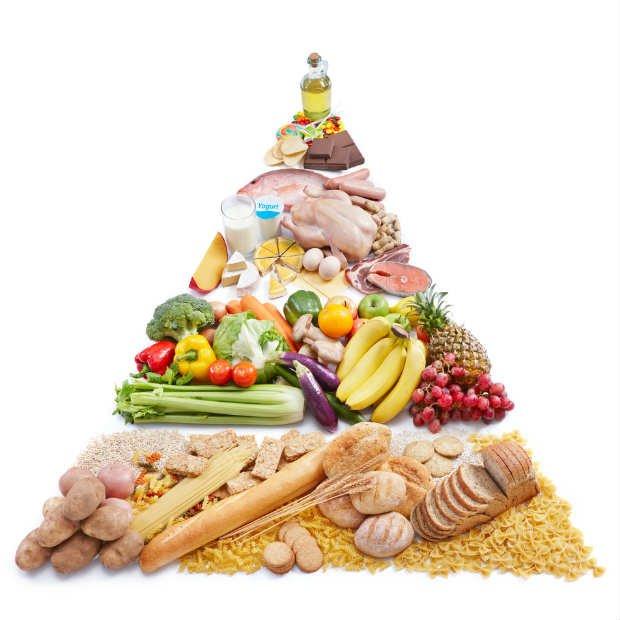 Pirámide Alimenticia - Foto: Shutterstock / ifong