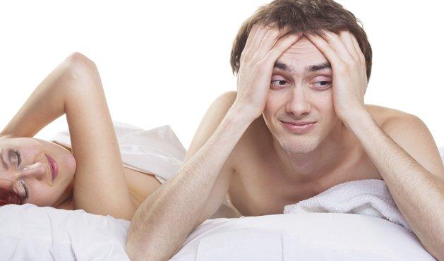 hombre en la cama con una mujer - Foto: Getty Images
